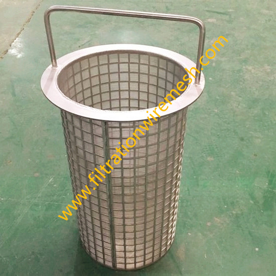 Stainless Steel Mesh Basket Filters