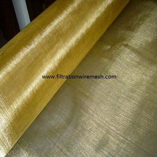 Brass Wire Cloth Plain Weave