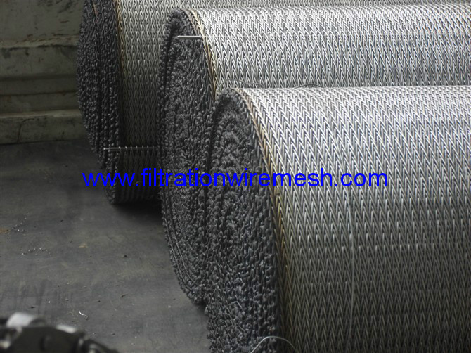 Wire Mesh Belt Conveyor