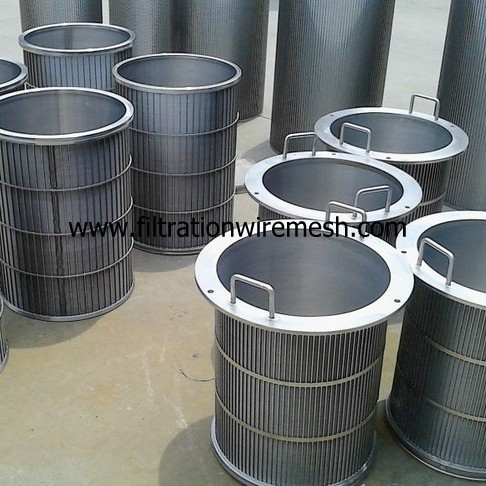 Wedge Wire Drum Screen