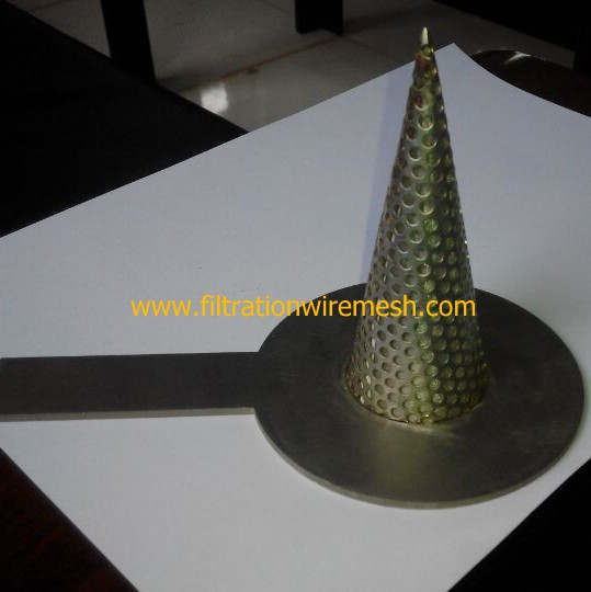 Perforated Metal Conical Strainers