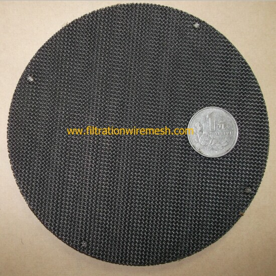 Black Wire Cloth Disc filters