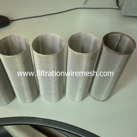 Stainless Steel Cylindrical Extruder Screen