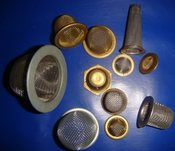 Stamping Wire Mesh Filter Stamping Stainless Steel Screen